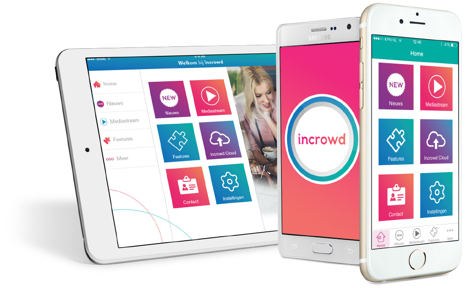 incrowd tablet phone